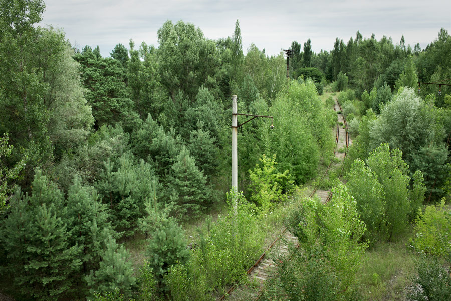 Chernobyl railroad